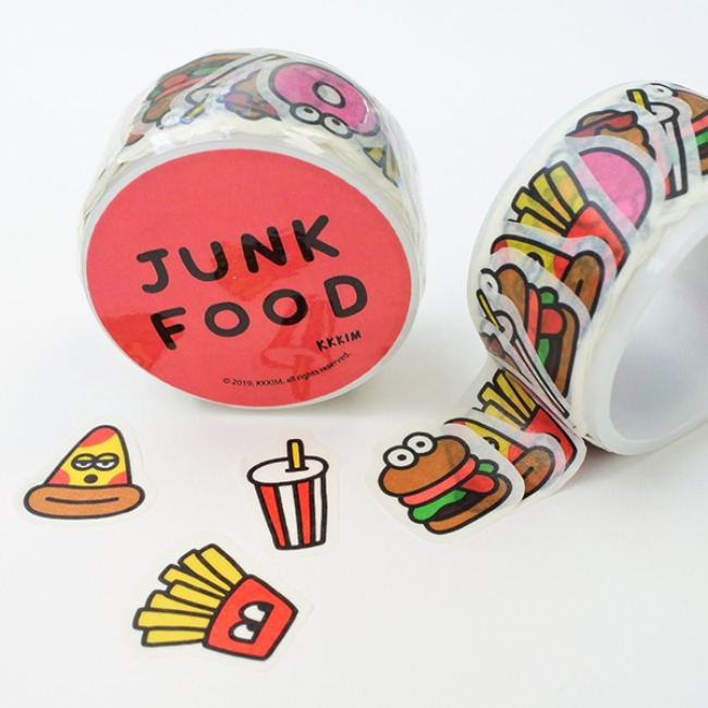 [KKKIM] MASKING TAPE_JUNK FOOD