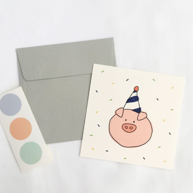[ppp studio] piggy card
