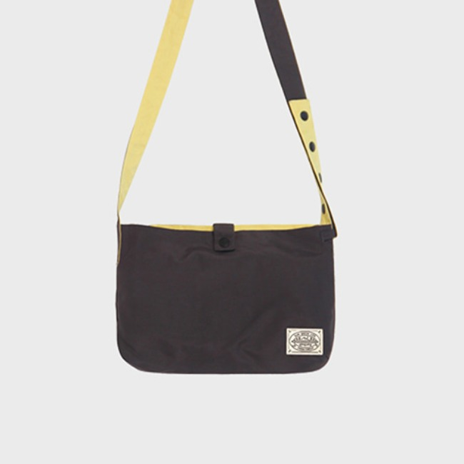 [공장] Reversible twoway cross bag_Charcoal