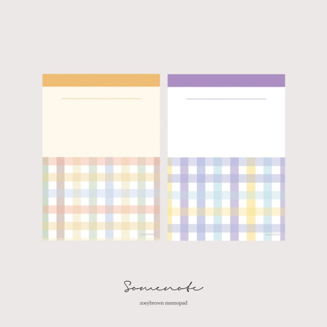 [조이브라운] SOME NOTE memopad ver.2