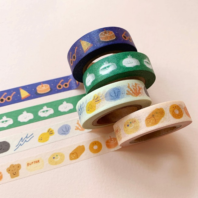[ppp studio] emotion friends masking tape
