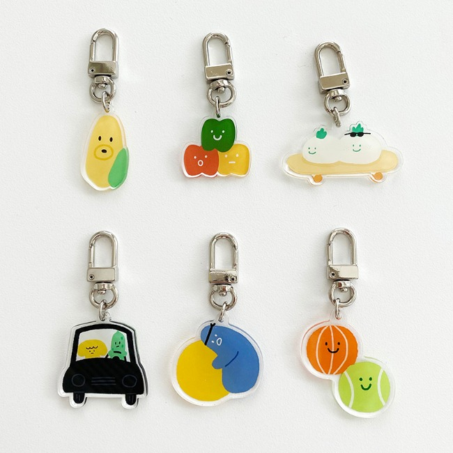 [ppp studio] emotion friends keyring