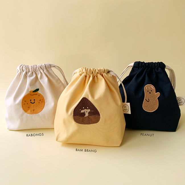[ppp studio] emotion friends pouch