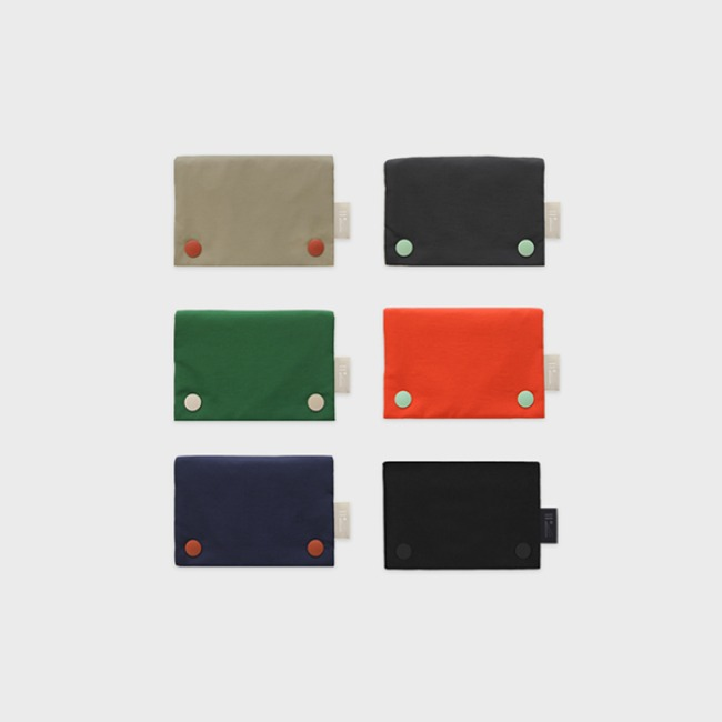 [공장] Two button wallet