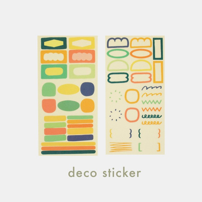 [ppp studio] deco sticker