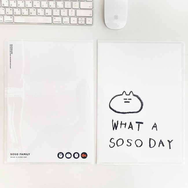 [이나피스퀘어] WHAT A SOSO DAY FILE