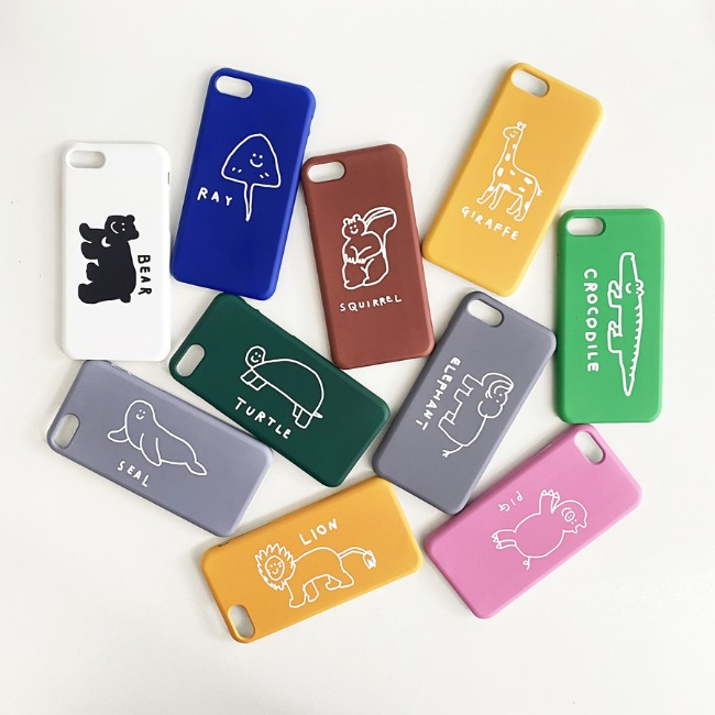 [이나피스퀘어] LOVE ANIMAL IPHONE CASE
