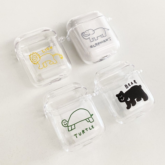 [이나피스퀘어] LOVE ANIMAL AIR POD / AIR POD PRO CASE