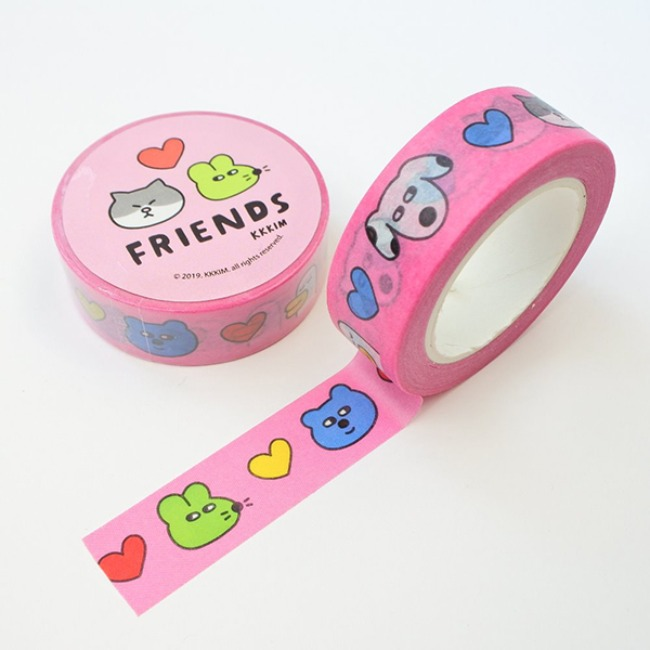 [KKKIM] MASKING TAPE_FRIENDS