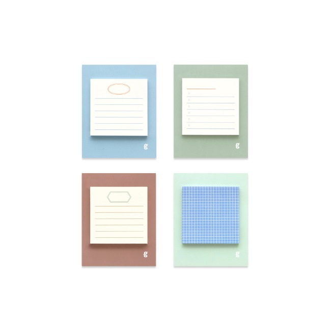 [공장] Square sticky pad _ lake