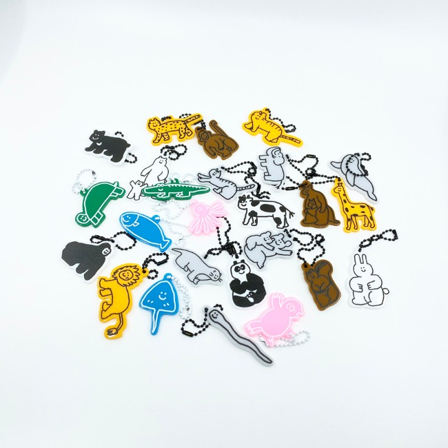 [이나피스퀘어] LOVE ANIMAL KEYRING